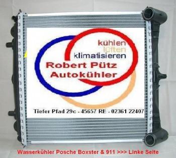 Kühler, BEHR Wasserkühler, (Links), Porsche Boxster, Porsche 911