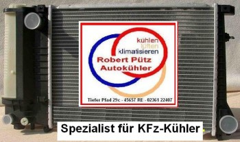 MOTORKÜHLER KÜHLER WASSERKÜHLER FÜR BMW 3 E46 BENZINER UND DIESEL *SCHALTER*