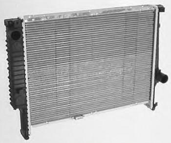 Wasserkühler KÜHLER mit Deckel für Automatik BMW E36 bei externen Ölkühler