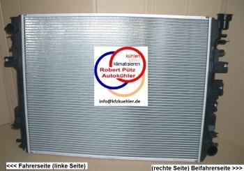Kühler mit Deckel, Wasserkühler, Dodge Pickup, Dodge RAM 3,7 & 4,7 & 5,7 ab 2009