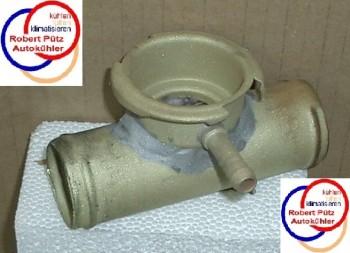 Adapterflansch 38mm / mit Einfüllstutzen / mit Verschlussdeckel