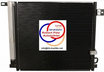 Kondensator, Klimakondensator, Hummer H3, GMC Canyon, Chevrolet Colorado