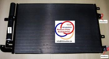 Klimakondensator kondensator mit trockner jaguar s type ccx