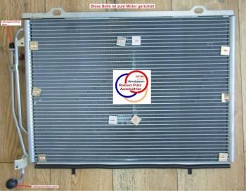 Klimakondensator Kondensator Mercedes C Klasse W202, S202, Mercedes CLK C208