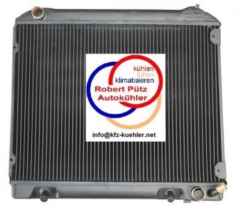 Mercedes, W113, 230 - 280 SL, Pagode, Automatik, Wasserkühler HL Netzerneuerung, Kühler Überholung des Altkühlers