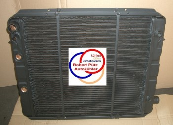 Wasserkühler Überholung, Kühler Netzerneuerung, Opel Senator A & Monza A, ATM & Schalter