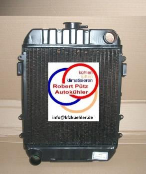 KÜHLER, Wasserkühler mit Deckel, OPEL, Kadett C & Kadett B, Schaltgetriebe