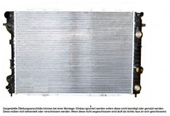 KÜHLER, Wasserkühler, Opel Omega B, 2,5 Diesel, Schalter und Automatik mit Klima