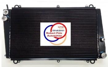 Vollaluminium Kühler, Wasserkühler verschweißt, Porsche 924, 2,0 L auch 2,0 Turbo