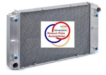 Vollaluminium Kühler, Wasserkühler verschweißt, für Porsche 928, ccm 4,5 - 5,0