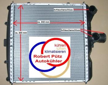 Kühler Wasserkühler rechts, Porsche, 911 (997), Cayman (987),  Boxster (987)