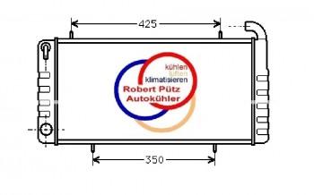 Kühlerüberholung, Netzerneuerung, Instandsetzung, Kühler für Rover 200 Turbo, GRD173, PCC103930
