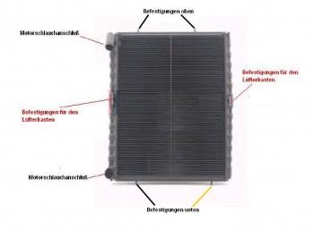 KÜHLER Überholung, Wasserkühler Netzerneuerung, VW LT, 28-35 & 40-55