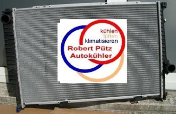 KÜHLER, Wasserkühler, BMW E34, 2,5 TDS, Schalter mit Klima, 17112244542