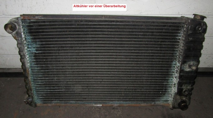 Kühler, Wasserkühler Überholung, Netzerneuerung, Chevrolet / GM / Buick / Dodge u.v.m.