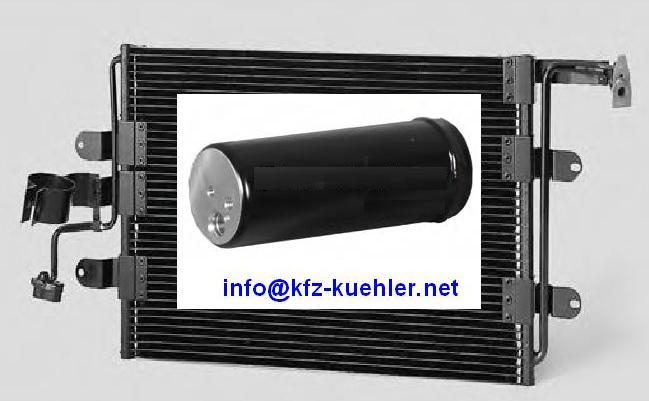 Klimakondensator behr kondensator inkl. trockner golf 4 audi a 3