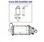 Ladeluftkühler, Turbokühler, Opel ASTRA G, 1,7L, TD