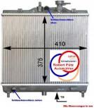 Kühler, Wasserkühler, KIA Picanto, BA, 1,0 - 1,1 L ab 04.04, ATM