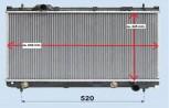 Kühler, Wasserkühler, Dodge, Chrysler, Neon II, 1,6 - 2,0 L