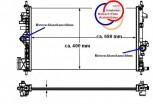 KÜHLER Wasserkühler OPEL Insignia 1,6 & 1,8 L, 1300292