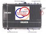 Kühler, Wasserkühler, Volvo S40, Volvo V40, Benziner, Schalter