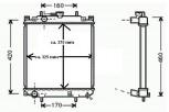 KÜHLER, Wasserkühler, Daihatsu Cuore, Move, Sirion (L701 & M100)