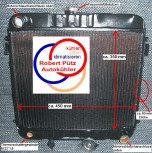 KÜHLER, Wasserkühler Hochleistungnetz, OPEL Manta B Ascona B,  (KIT)