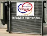 KÜHLER Wasserkühler mit Deckel BMW E36, Z3, 316-325 Schaltgetriebe m. Klimaanlage