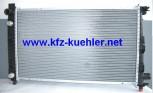 Kühler, Mercedes Veneo, 414, 1,6L-1,9L Benziner & CDI, mit Klima