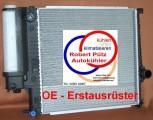 KÜHLER, BEHR Wasserkühler mit Deckel, BMW E36 316 - 325 i & BMW Z3, Schalter mit Klima