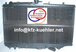 KÜHLER, Wasserkühler, Mazda 323, IV, BG, Automatikgetriebe (18)