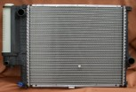 KÜHLER, Wasserkühler mit kühlerdeckel, BMW E34, Tropen-Version, (520*440*42 mm)