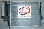 KÜHLER Wasserkühler mit kühlerdeckel, BMW E34, Schalter mit Klima (520*440 mm)