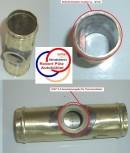 Adapterflansch 32mm mit M22*1,5 Gewinde
