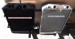 Sonderanfertigung - Nachbaukühler für einen Morgan aus Kupfer/Messing