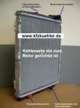 KÜHLER, Wasserkühler, Audi, 80, 90, S2, Quattro mit ZK (OE)