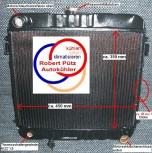 KÜHLER, Wasserkühler mit TH, OPEL Manta B, Opel Ascona B, Record E Schaltgetriebe