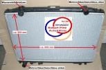 KÜHLER, Wasserkühler, Mazda B Serie (UN / UF) / Ford Ranger (TU) Schaltgetriebe