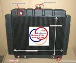 Wasserkühler Kühler mit Thermoschaltergewinde, Mercedes /8 W115, Benziner 200 & 230 auch Diesel 200 & 220 (022)