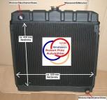 Wasserkühler, Kühler, Mercedes /8 W115, Benziner 220 & 230/4 Diesel - Schalter
