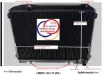 Wasserkühler, Kühler, Mercedes, W113, 250 SL, Pagode, Netzerneuerung, Überholung des Altkühlers