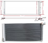 Kondensator, Klimakondensator Porsche Panamera (970) Benziner & Diesel