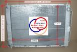 Kühlmodul = Kühler, Wasserkühler mit kondensator, Renault Clio III & Modus